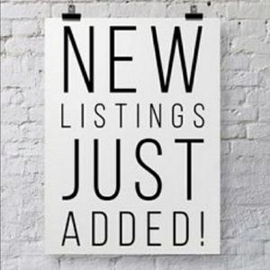 New items added today!! Take a look!